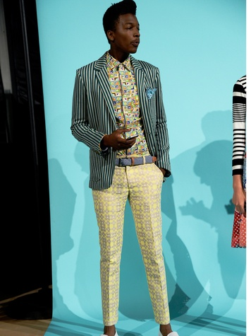 Fashion Week spring 2015 Trina Turk men's separates look