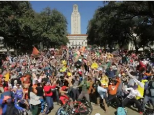 Austin Photo Set: news_jonathan_UT harlem shake_feb 2013_screenshot