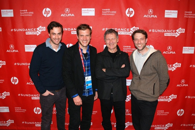 Bastian Gunther, Houston, Sundance Film Festival, January 2013