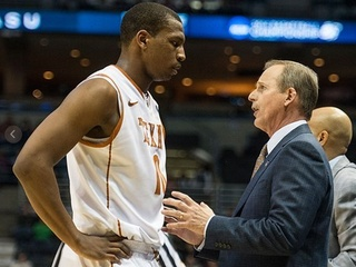 Rick Barnes and Jonathan Holmes March Madness