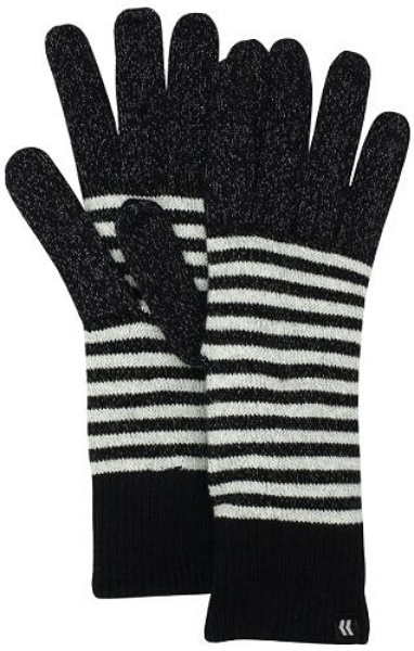 ISOTONER Women's smarTouch Mini Stripe Allover Gloves