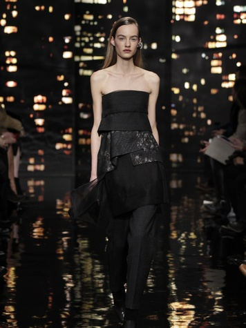 Look 3 Clifford Pugh New York Fashion Week fall 2015 February 2015 Donna Karan