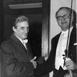 Sir John Barbirolli and concertmaster Raphael Fliegel, 1960s.