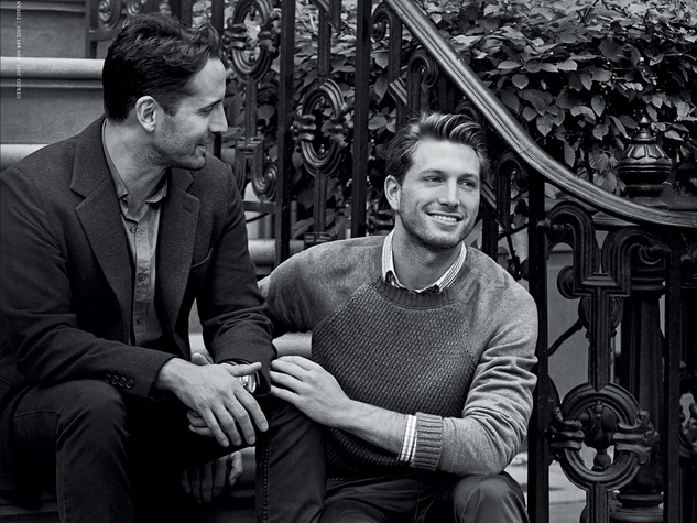 Tiffany engagement campaign January 2015 Male Couple