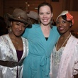 Candace Rattliff, from left, JoDee Engle and Courtney D. Jones at the Hope Stone Gala March 2014