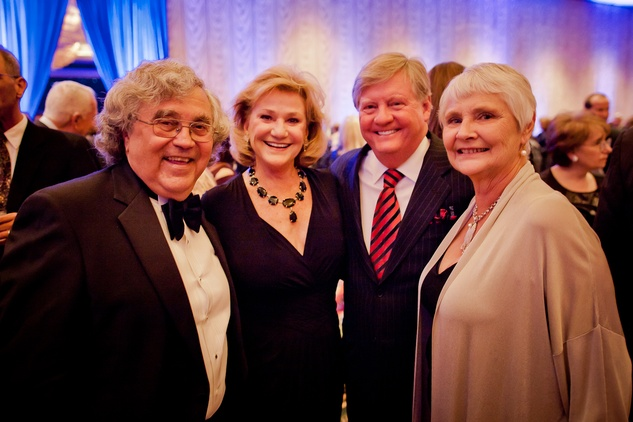 12 Dr. Tom Solis, from left, Carolyn and James Robertson and Dr. Barbara Solis at the Planned Parenthood Gala October 2014