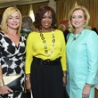 Wezy Dees, from left, Deborah Duncan and Anne Richardson at the On the Move luncheon March 2014