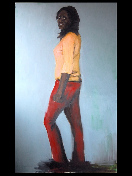 The Menil, The Progress of Love, December 2012, Lynette Yiadom-Boakye, Marble, BLACK SPACE