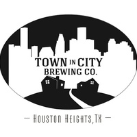 Town in City Brewing Co., logo, Heights, beer