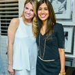 67 Lindley Arnoldy, left, and Divya Paralker Brown at the Baanou trunk show December 2013