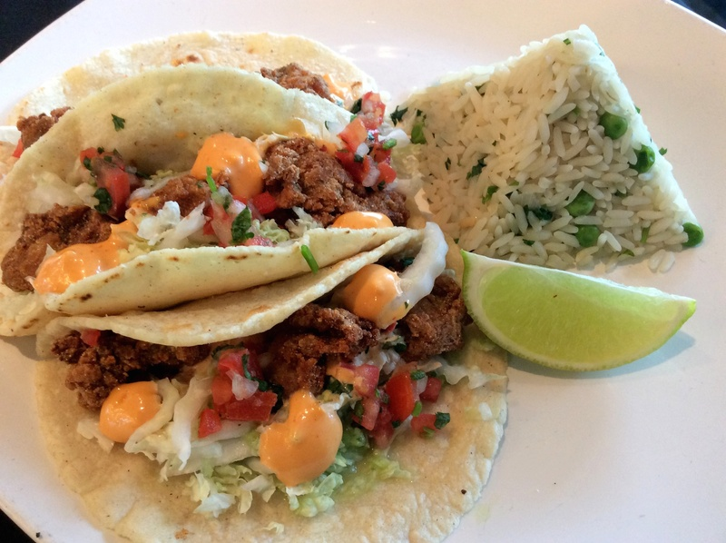 Try these ostiones (fried oyster) tacos at Caracol. Courtesy photo