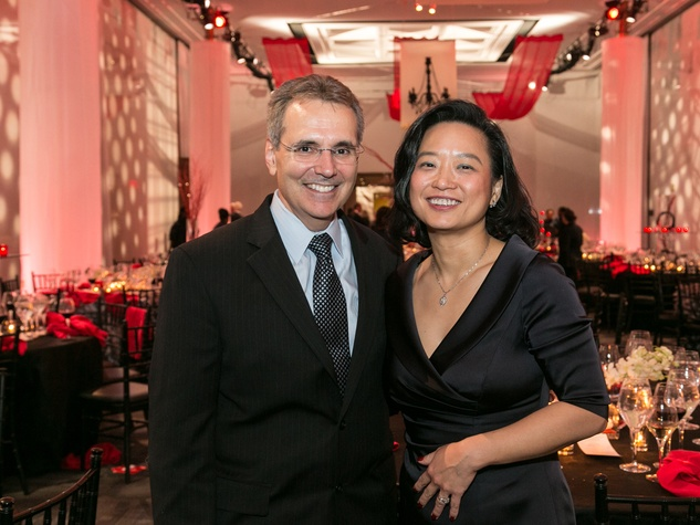 Dr. Ron DePinho and Dr. Lynda Chin at the M.D. Anderson Living Legend in Washington, D.C. November 2013