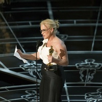 Patricia Arquette at the 2015 Academy Awards