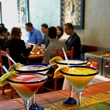 Maria Selma Restaurant Houston margaritas on bar