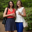 Emily Smith, left, and Abbey Marks at Bayou Bend's Bubbly on the Bend April 2014