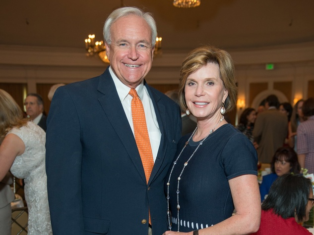 Mission to Mars luncheon 9/16, Bill King, Trish Millard