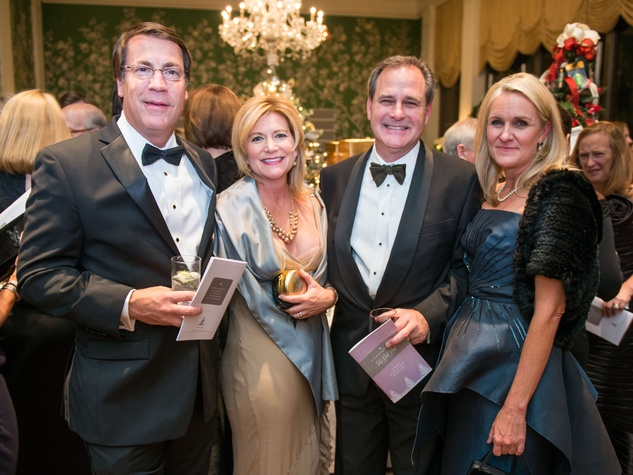 26 Mark and Maura Montgomery, from left, and Jim and Terry Prather at the Trees of Hope Gala November 2014