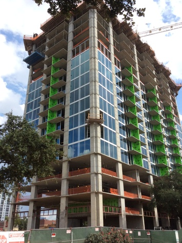 Novare Group is developing SkyHouse River Oaks, a 352-unit, 25-story apartment building at 2031 Westcreek Lane, near San Felipe and Loop 610. This is one of three new SkyHouse brand rental towers in Houston September 2014