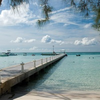 Cayman Islands ocean pier