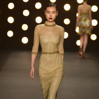 Naeem Khan fashion week fall collection February 2014