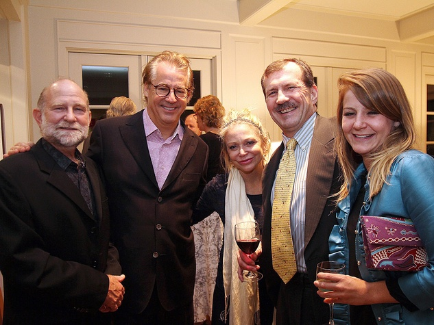 John Eldridge, from left, Robert and Mimi Del Grande, Brad Patteron and Katie Patterson at the Da Camera Opening Night party October 2013