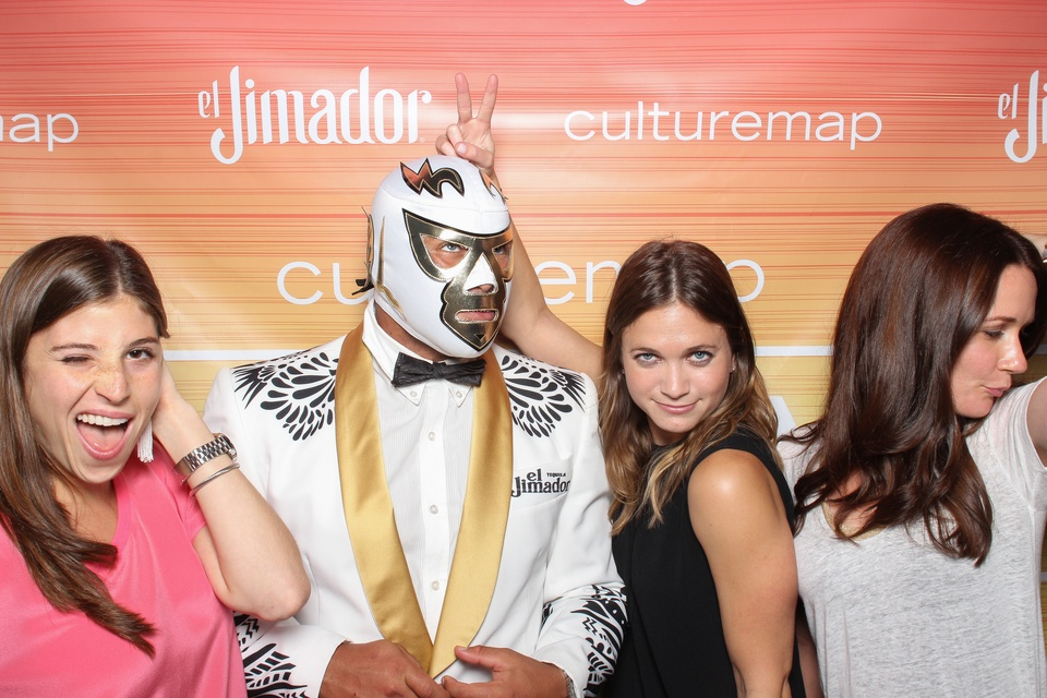 150 Smilebooth at CultureMap Summer Social July 2014