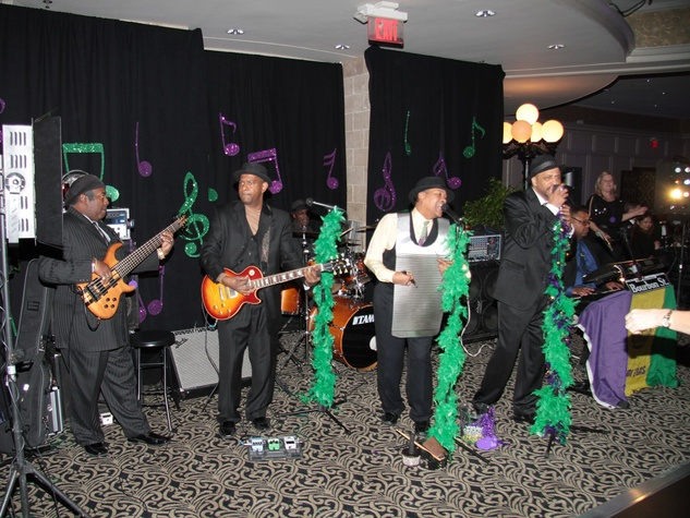 Bourbon Street Band at the Devereux Gala February 2014