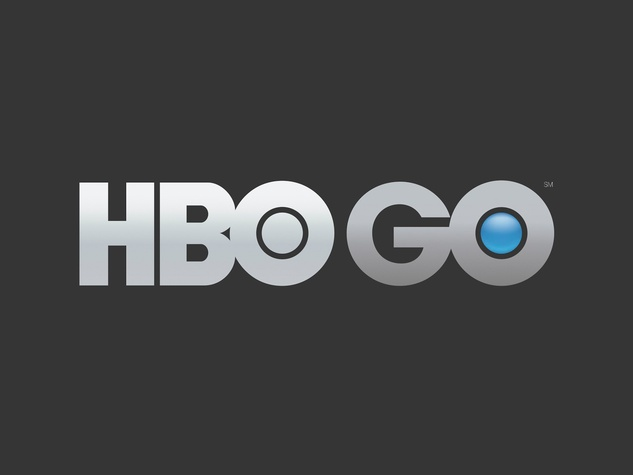 HBO Go logo on black