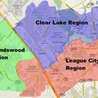 Friendswood League City Map