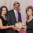 Phalguni and Dr. Jitendra Kikani, from left, with Dorothy Bolettieri at the Medical Bridges Gala September 2014