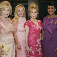 3 Pink at the Brown Houston May 2013 Joanne King Herring, Linda McCaul, Margaret Alkek Williams, Linda Lorelle