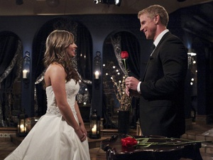 Lindsay an Sean Lowe in The Bachelor