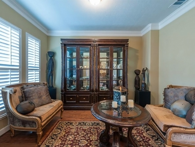On the Market Vince Young Royal Oaks house 12006 Legend Manor Drive October 2014 formal living room