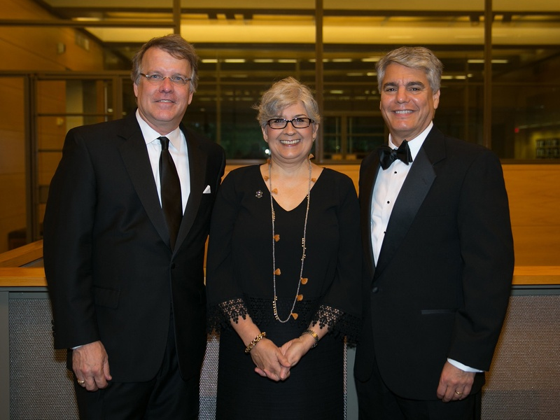 Ransom Center World of Wonders Gala 2017 Steve Enniss Carmel Fenves Greg Fenves
