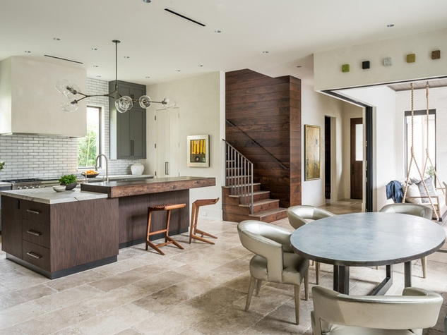 New Museum District home blends classic and contemporary design