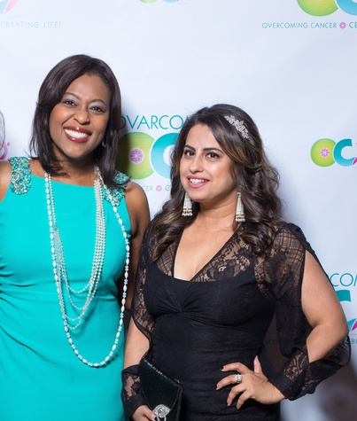Houston, Ovarcome Gala, May 2016, Sharron Melton, Ruchi Mukherjee