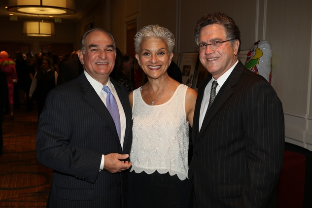 Seven Acres gala, Feb. 2016, David Morris, Susan Farb Morris, Martin Bronstein