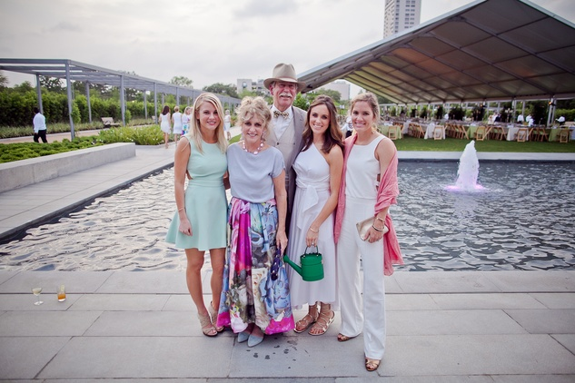 News, Shelby, Hermann Park Conservancy, Evening in the Park, April 2015, Erica Radcliffe, Ann Radcliffe, Tom Beuscher, Lindsay Radcliffe, Molly Neff
