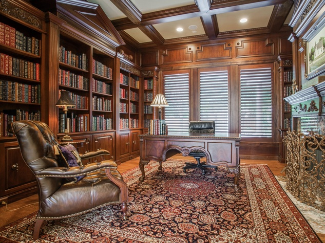 Library at 14816 Bellbrook in Dallas