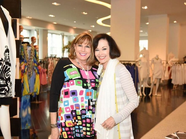 Tootsies Josie Natori brunch Lu Caltigrione and Sharon Worley