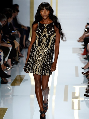 Fashion Week spring summer 2014 2 Diane von Furstenberg Naomi Campbell