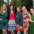 Claire Peters, from left, Laura Prus, Samantha Walter, Cathleen Fishel and Kelsey Walker at Bayou Bend's Bubbly on the Bend April 2014