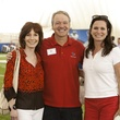 Marcy Taub, from left, Dr. Marc Boom and Cabrina Owsley at The Society for Leading Medicine Houston Texans Family Field Day May 2014