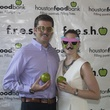 Zach and Ashlyn Blakeman at the f.r.e.s.h. new young professionals group party june 2014
