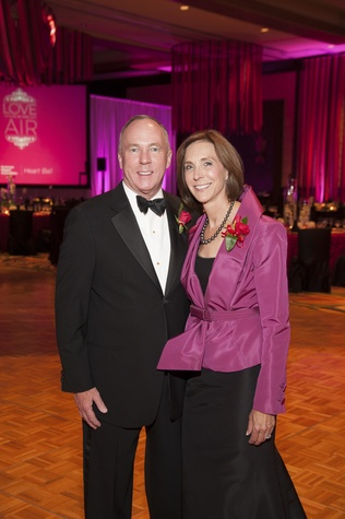 2 John and Cindy Gremp at Heart Ball February 2015