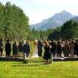 T Lazy 7 Ranch Aspen Ceremony Meadow with wedding