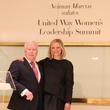 Neiman Marcus VP, Jeff Byron and United Way President and CEO, Jennifer Sampson