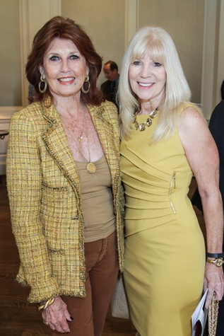 6 Eleanor Connan, left, and Patricia Cooper at the Moores School of Music Luncheon November 2014