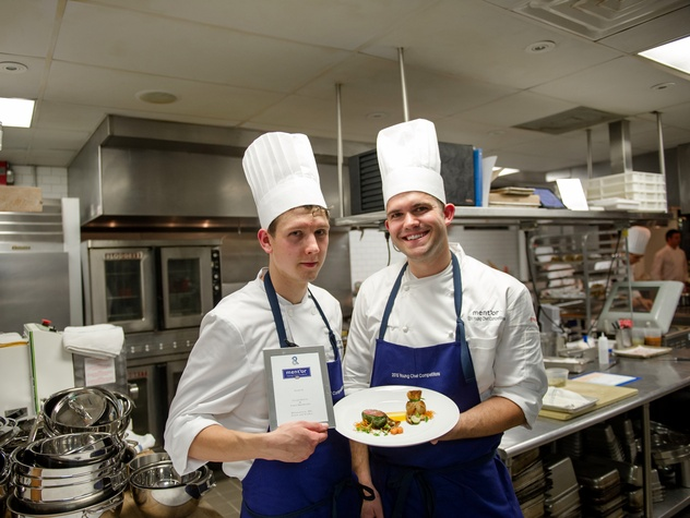 Houston, BKB Foundation Young Chef Competition, October 2015, Tyler Prieve, Paris Dreibelbis