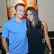 News, Shelby, HFAF party, August 2014 Matt Johnson, Oriana Velasco